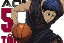 "Aomine Daiki / Name: Aomine Daiki |  Kanji: 青峰 大輝 |   Gender: Male |  Age: 16 |  Height: Tōō: 192 cm (6' 3½""),  Teikō: 175 cm (5' 9"") |  Weight: 85 kg (187 lbs) |  Birthday: August 31st, Virgo |  Blood type: B |   Team: Teikō (former),  Tōō,  Team Vorpal Swords Position: Power Forward Talent: Speed and Agility,  Formless Shot,  Zone |  Anime: Suwabe Junichi"