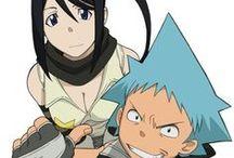 Black Star and Tsubaki Nakatsukasa
