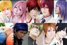 Cosplays / My favorite: Ichinose Tokiya, Matsuoka Rin, Allen Walker, Kise Ryota, Death the Kid <3