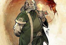Avatar: the legend of Aang/Korra