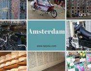 Amsterdam avec les enfants - Voyage en famille / Découvrir Amsterdam en famille! Un city trip extra pour petits et grands enfants aux Pays-Bas #voyageenfamille #voyage #familytravel #travel #famille #enfants