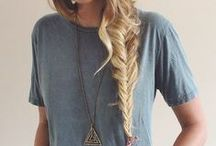 Hair <3 / I love hair, and i want to try all these hairstyles.