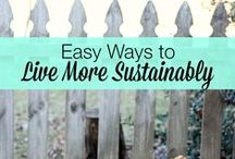 Sustainable Living Tips / Alternatives that are beneficial for the environment and community.