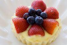 interesting desserts (fruits)