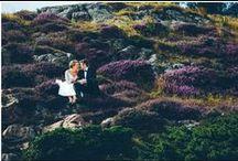 After wedding shooting in Schweden von LE HAI LINH Photography / After wedding shooting in Schweden von LE HAI LINH Photography  www.lehailinh.com  Heide, Küste, Schweden, Natur, After wedding shooting, Trauung, Küssen, Sonnenuntergang, verliebt, romantisch, leise