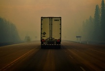 On the Road: The Life of a Trucker  / Photos depicting big trucks, truckers and life on the road. Sunsets, sun rise, strollin' the highways and what life looks like for a truck driver away from his/her home. / by Smart Trucking