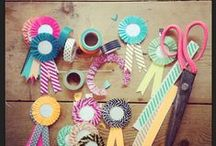 Washi Tape inspiration and creations / Creativity with tape