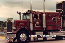 White/Freightliner Trucks / A collection of White/Freightliner big rigs. / by Smart Trucking