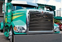 International Trucks: New and Older Vintage Models / International big rig trucks, including the older, classic models of binders. / by Smart Trucking