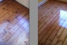 Wood floor sanding Cambridge UK / Wood floors are a real asset to any home, however after time they can look tired, however our trained technicians can bring your floor back to life, please see the before and after pics, hopefully they speak for themselves.