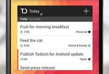 Todoist / Todoist is an online to do list - a personal task manager to help you get things done. Create tasks, sub-tasks, add labels, recurring dates, receive reminders and much more. / by Todoist