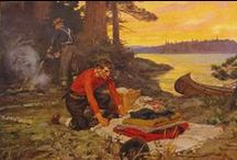 Classic Hunting and Fishing Art