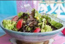 ♥ Verduras verdes / green vegetables ♥ vegan, macrobiotics, glutenfree