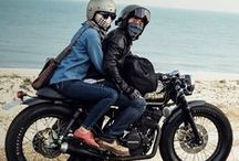 HIM / Motorcycle and man style / by Paau Rios