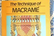 Macrame / Look at my Facebook for my items on sale: https://www.facebook.com/profile.php?id=100004672216158