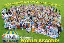 Wizard of Oz Guinness World Record / We led the town of Grand Rapids, Minnesota in breaking the world record for most people dressed as characters from the film Wizard of Oz on Friday, June 13th. There were 1093 people.
