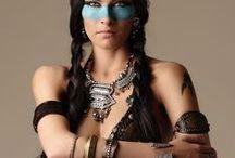 <<< Native/edgy boho/hippie tribal  >>>