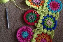 knitting and crochet