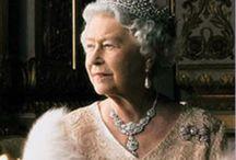. Elizabeth II . / THE Queen