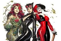 Gotham city Sirens ♥ / Catwoman, Poison Ivy and Harley Quinn