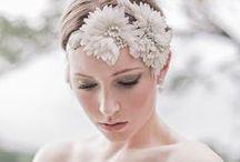 Wedding Short Hair / Pixie Hair, Short Hair, Wedding, Veil, Wedding Diadem, Wedding Band Hair