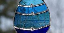 szklane zabawy - stained glass / moje prace ze szkłem w technice Tiffany i nie tylko.