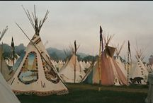 Wigwams & Tents / by Ann Flowers