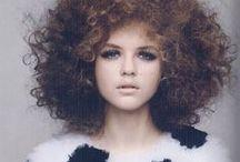 Hair & Beauty / Big hair, BUN's and loads of lipstick