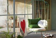 Hanging chairs / Hanging chairs are just so cool!