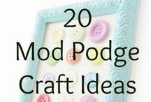 Crafts   Mod Podge / Mod Podge projects and products.