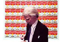 zAndy Warhol / by Michelle Kennedy