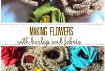 Crafts   Burlap / Crafting with burlap.