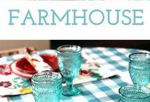 Decor   Farmhouse Style / Farmhouse style for the home.