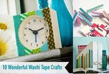 Crafts   Washi Tape / Ideas for using Washi Tape.
