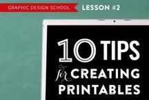 Printables   How To's / Instructions for making printables.