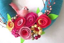 Crafts   Wreaths / Wreath projects for all seasons