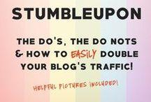 Blogging   Social Media / Tips for using social media. (Instagram, Twitter, StumbleUpon etc)