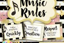 Classroom & Studio Decor / Decorations, posters, and other decor for the music classroom, piano studio, general classroom, elementary classroom, or any classroom!