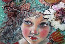 Mixed Media Canvas Art