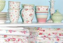 Greengate Dishes... I Want Them So Bad
