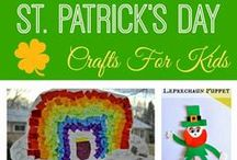 Holidays   St. Patrick's Day / Ideas, crafts and recipes for St. Patrick's Day.