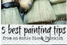 DIY   Chalk Paint Tips / Supplies and tips for Chalk Paint.