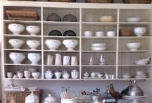 Interior design (étagères and cabinets)