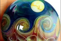 Lampwork Glasbeads Impressionen