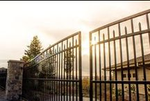 Gates / Rick's Custom Fencing and Decking offers a variety of automatic, ornamental, security gates, custom made and manufactured at our Salem, Oregon production facility.