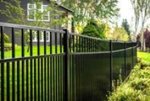 Aluminum Fencing / Aluminum Fencing offers a combination of durability, strength and a clean appearance.