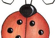 Ladybug inspired / Makeup inspired by ladybugs
