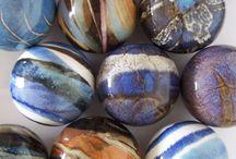 My pottery / ceramics, reduction glazes, stoneware, gas kiln, pottery