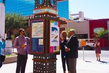 Downtown Management District El Paso / The El Paso Downtown Management District (DMD) seeks to make Downtown El Paso the center of commercial, civic and cultural activity. By mobilizing resources and affecting positive growth and change within the district, the DMD is committed to the revitalization of a vibrant Downtown El Paso.