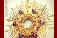 EUCHARISTIC ADORATION / The Blessed Sacrament, Benediction and Eucharistic Adoration.